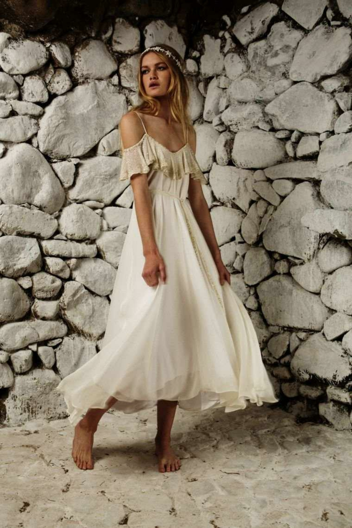 1001 id es pour une robe hippie chic en dentelle robe boh me. Black Bedroom Furniture Sets. Home Design Ideas