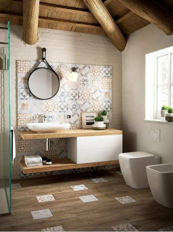 1001 id es pour une d co salle de bain zen salle de for Salle de bains 5m2