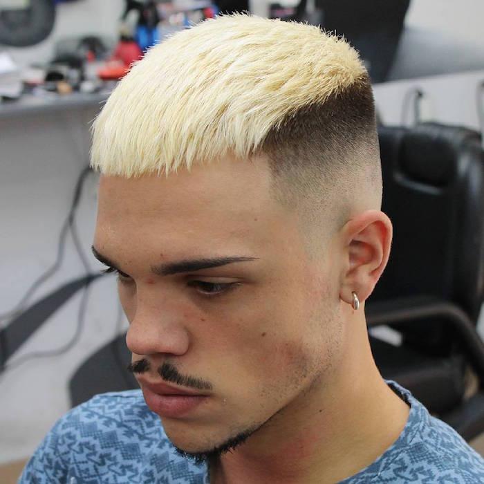 1001 Idées Mèche Blonde Pour Homme Une Question De