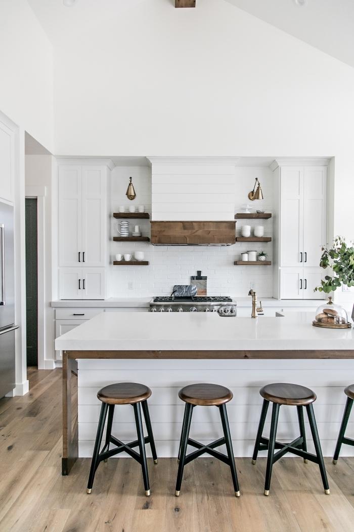 110 cuisines de r ve avec un lot central de cuisine au coeur de l espace obsigen - Ilots central de cuisine ...