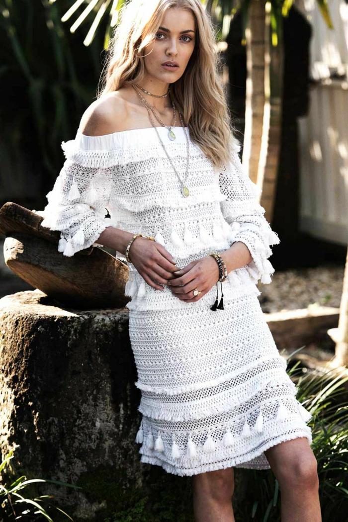 1001 id es pour une robe hippie chic en dentelle robe. Black Bedroom Furniture Sets. Home Design Ideas