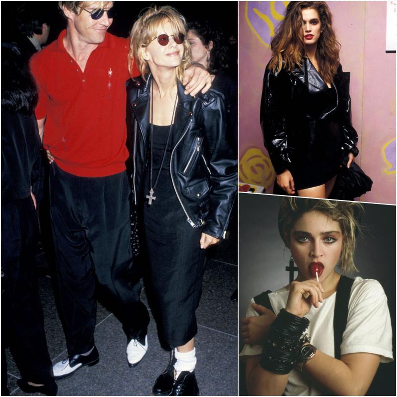 Habit année 80, couple célèbre de la derniere siecle, style vestimentaire année 80, pour la soirée 80 s kids