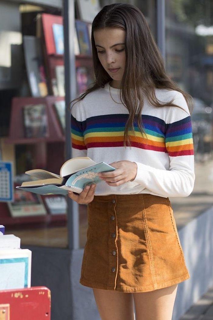 Idée déguisement année 80, la fameuse mini jupe, choisir vetement année 80, inoubliables modèles