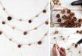 Réalisez une création avec des pommes de pins pour sublimer votre décoration automne-hiver 2018