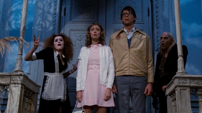 Rocky Horror film, acteurs qui jouent sur la scène, film fantastique de 1986