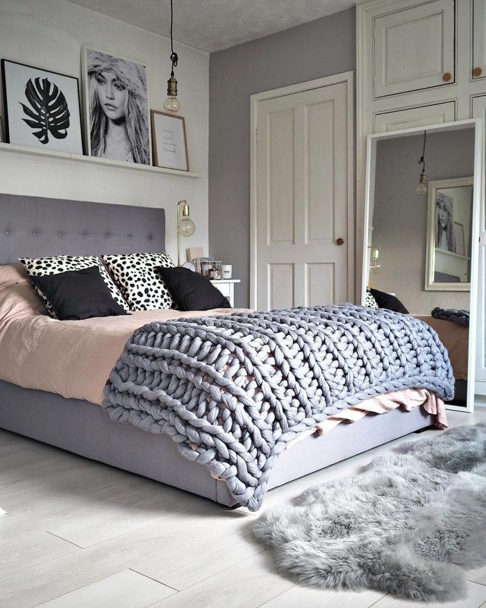 1001 id es d co pour votre lit cocooning et chaud - Chambre cocooning ado ...