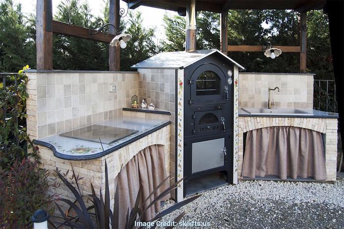 cuisine d t couverte profitez de l ext rieur par tous. Black Bedroom Furniture Sets. Home Design Ideas