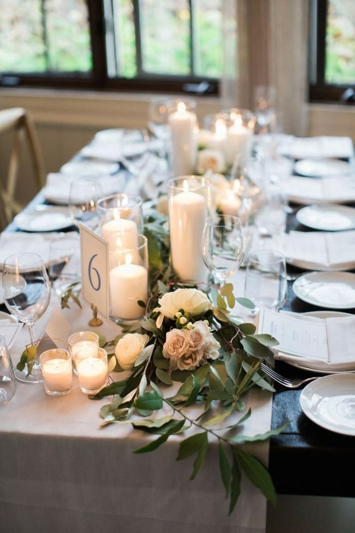 comment arranger et décorer la table pous son mariage theme champetre