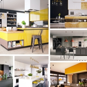 Le charme de la cuisine avec îlot central en 96 modèles splendides