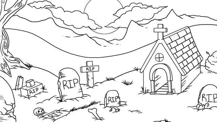 1001 Idees Dessin Halloween Facile Des Creatures A Portee