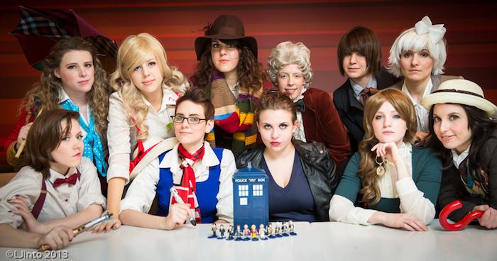 Deguisement amies, toutes les visages de docteur who déguisement halloween fait maison, thème de film costume simple