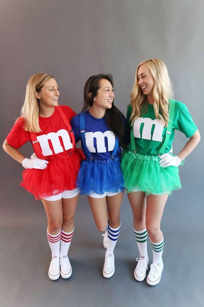 Déguisement ridicule pour une groupe d'amis, déguisement de groupe, se combiner avec les amis, comment s'habiller pour halloween sans trop d'effort