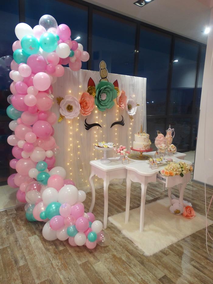 Joyeux anniversaire 18 ans, deco table anniversaire 18 ans thème licorne, activité anniversaire adulte