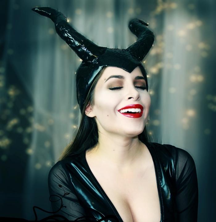 1001 Idées De Déguisement Et Maquillage Diablesse Pour La Fête