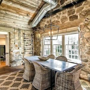 Mur en pierre intérieur – pilier en terme d'authenticité