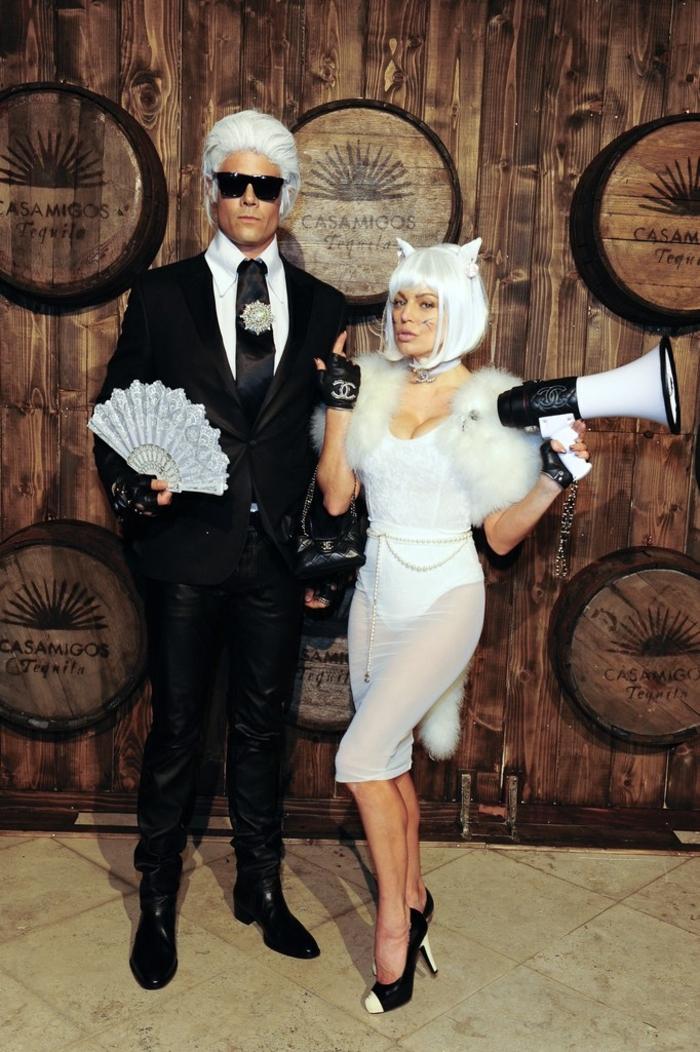 Fergie et Josh Duhamel déguisés pour Halloween, duo celebre avec un déguisement halloween pour couple