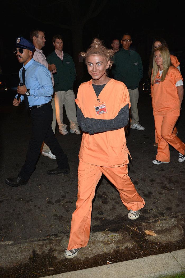Comment s'habiller pour une soirée halloween, Black is the new orange, crazy eyes déguisement carnaval pour le dernier moment