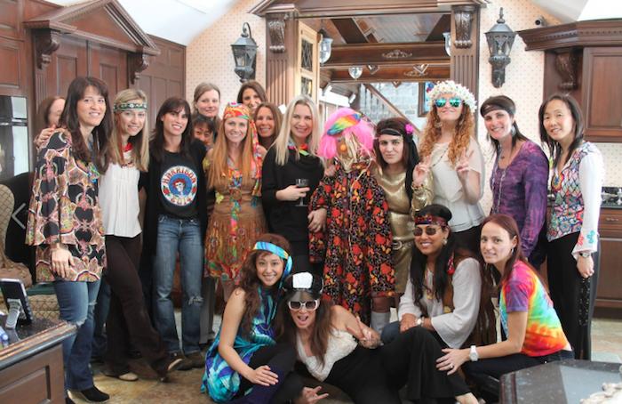 Chouette deguisement halloween maison, déguisement halloween fait maison, inspiration costume hippie