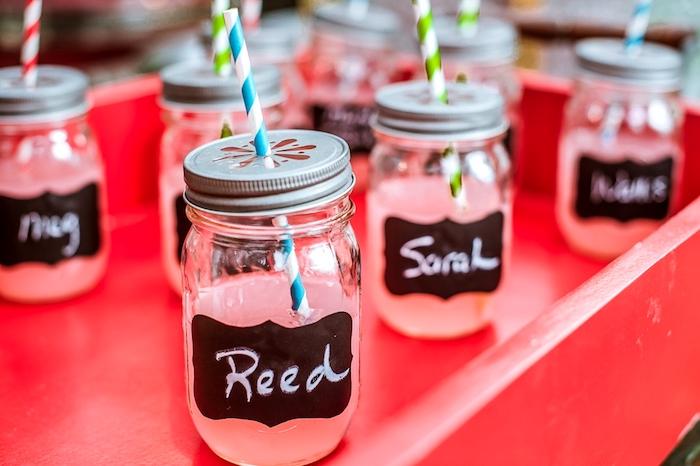 Decoration anniversaire fille deco anniversaire 18 ans, déco à faire soi même, limonade rose personnalisé