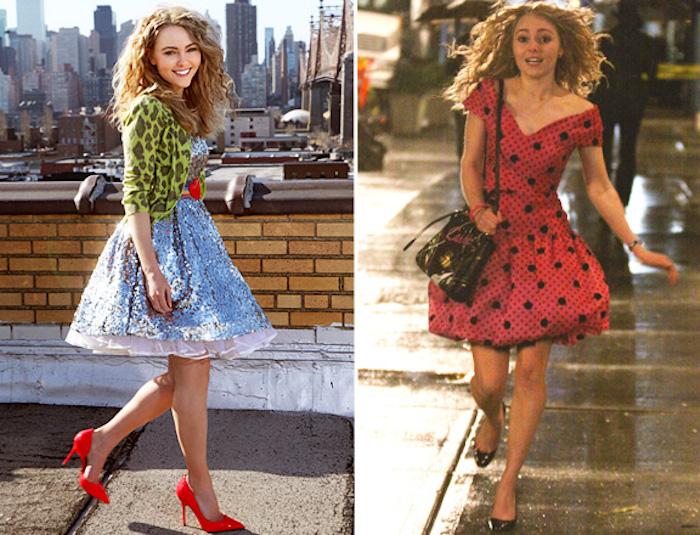 Soirée année 80, comment s habiller look année 80, tenue spéciale inspirée par la jeune Carrie Bradshaw
