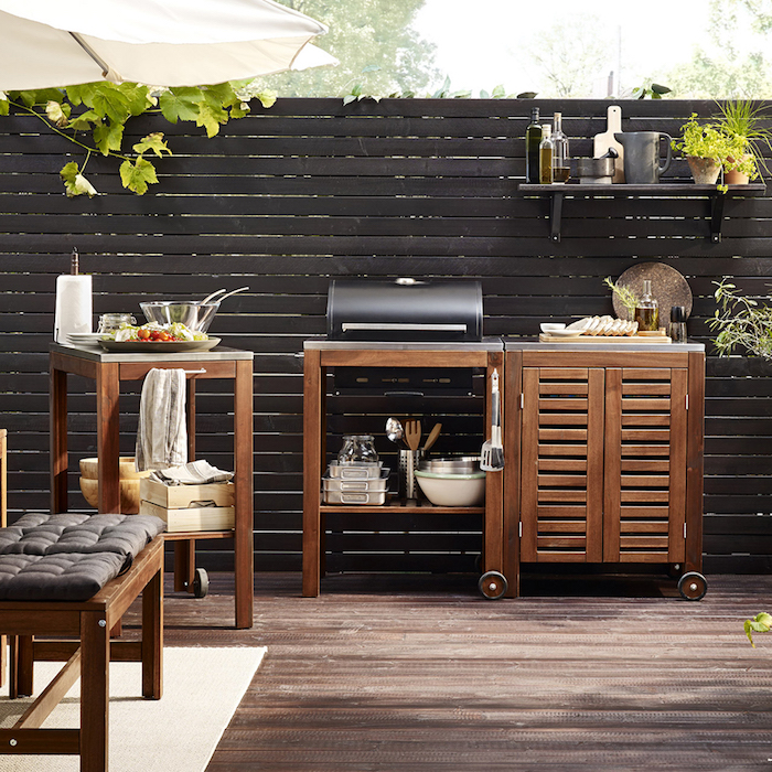 cuisine d t couverte profitez de l ext rieur par tous les temps obsigen. Black Bedroom Furniture Sets. Home Design Ideas