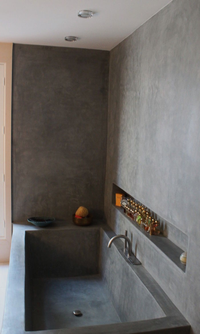Alternative Carrelage Mural Salle De Bain ▷ 1001 + idées | salle de bain sans carrelage – des