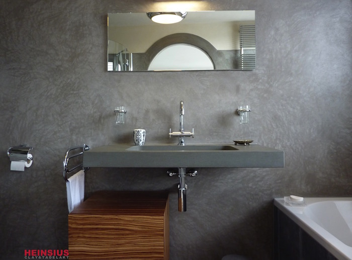 ▷ 1001 + idées | Salle de bain sans carrelage – des alternatives ...