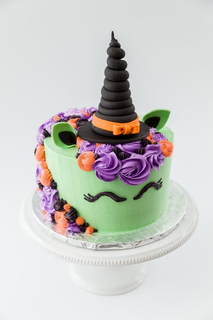 ▷ 1001 + modèles de gâteau d'Halloween fantasmagoriques