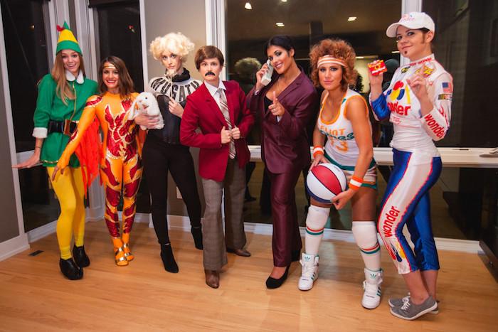 Faire la fête deguisement halloween maison, costume original pour couples, trios et grand groupes