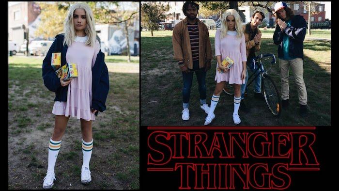 Idée déguisement personnage de film, cinemadeguisement trio cool pour 2018, Stranger things se déguiser avec amis