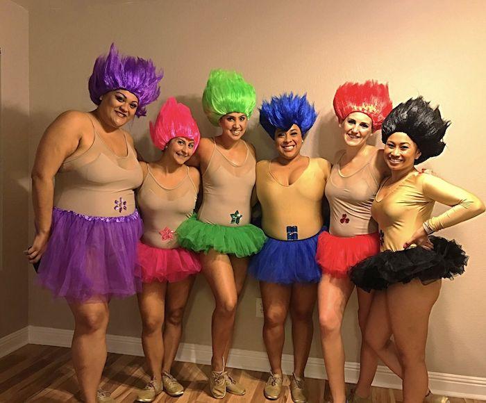 Chouette deguisement halloween maison, déguisement halloween fait maison, inspiration costume de trolles