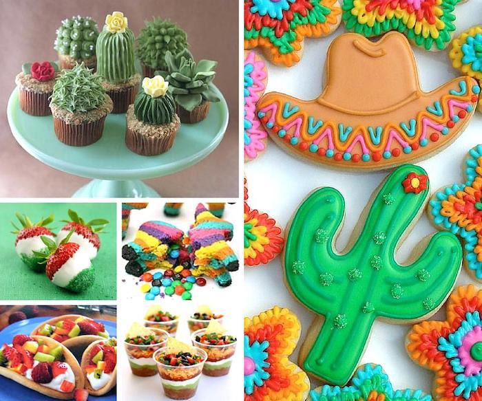 Décoration salle anniversaire, joyeux anniversaire 18 ans, diy idée déco mexicane, theme de mexique