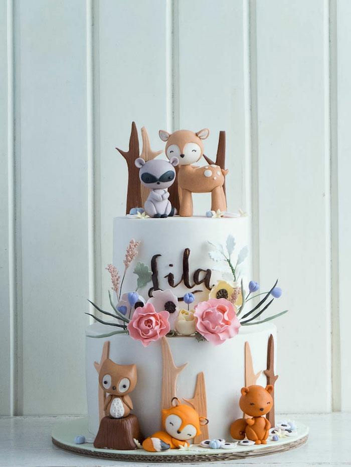 Gateau anniversaire fille, le plus beau gâteau du monde, image de gâteau enfant trop mignon