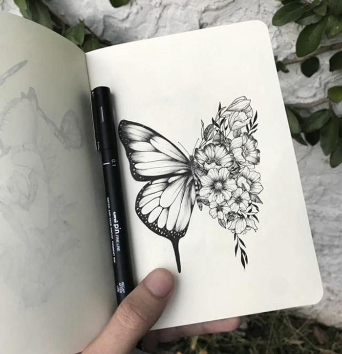 snap tatouage papillon noir et blanc galerie tatouage photos on pinterest. Black Bedroom Furniture Sets. Home Design Ideas