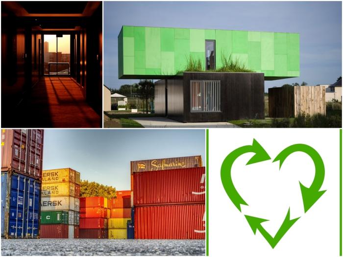 tout savoir sur la construction d'une maison en container éco-responsable et économique, avantages principaux de la construction sur une base de containers maritimes récupérés