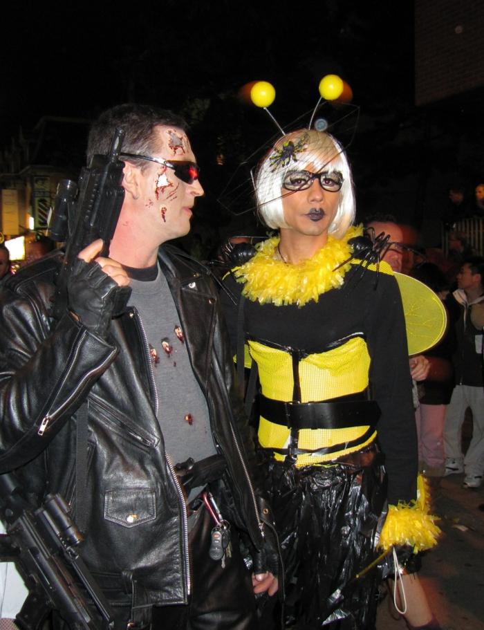 Soirée déguisée, idée originale de deguisement groupe, theme de soiree insolite originales costumes pour deux amis