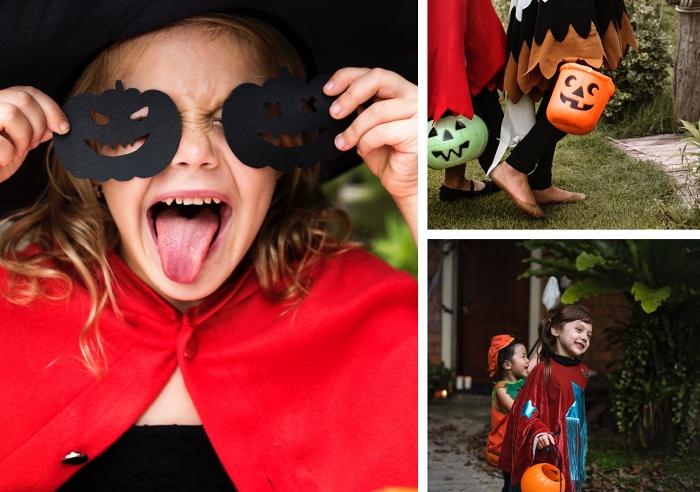 modèle de costume Halloween pour enfant, déguisement original en personnage de conte de fée pour enfants