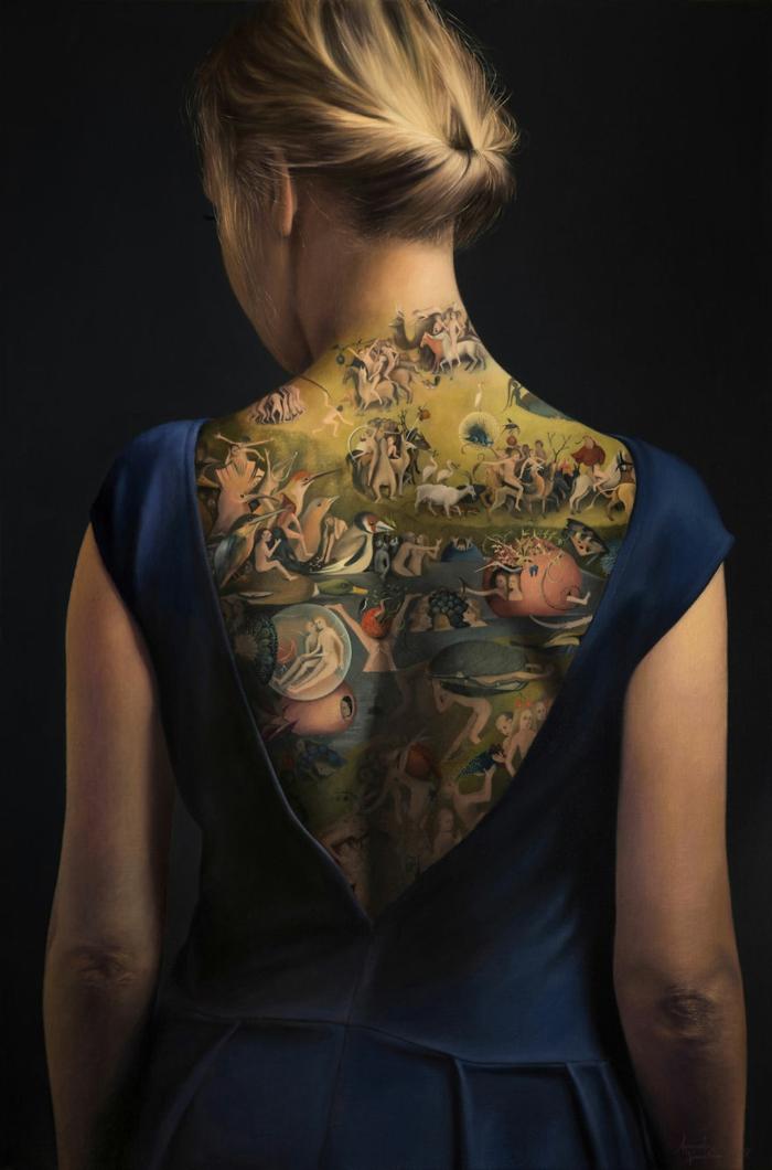 Dos entierement tatoue, tatouage art chef d oeuvre, quelle est la plus originale idée faire son dessin