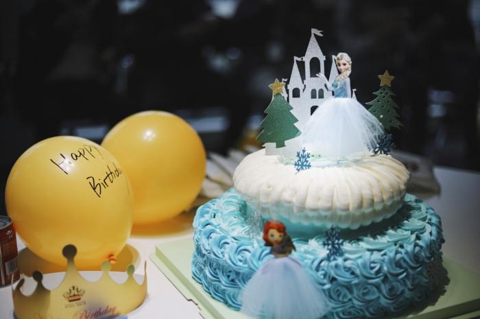 Quels sont les plus beaux gateaux, faire son choix parmi les meilleures gateaux, fille gateau anniversaire la reine des neiges