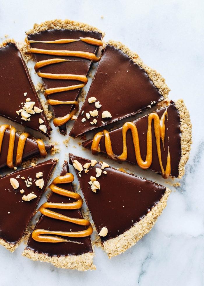 recette de gâteau au chocolat et beurre de cacahuète sans produits d'origine animalière, gateau sans lactose et sans oeufs au chocolat et beurre de cacahuète