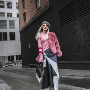 Manteau classe pour femme - tendances de l'automne-hiver 2018-2019