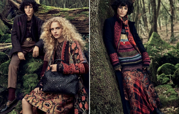 Pull oversize femme moderne en tenue boheme chic hiver 2019, robe et manteau style hippie chic, choisir le style bohème cet hiver