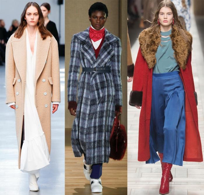 manteaux féminins, manteau veste long, couleur rose nude, manteau femme laine, manteau en tweed, tenues d'hiver féminines