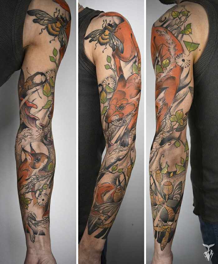 Quel tatouage amitié choisir, une idée de tatouage en commun art sur la peau, le renard sauvage du petit prince