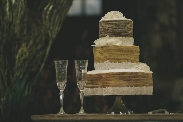Gateau mariage rustique originale idée, gateau anniversaire adulte origina choisir facilement