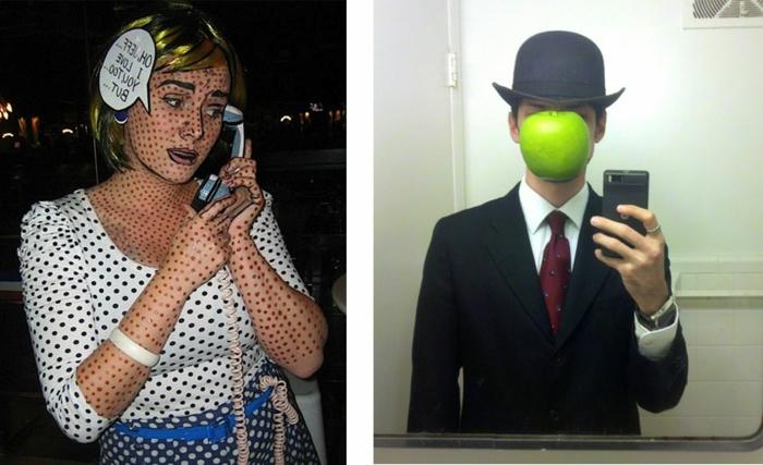 Le meilleur theme de soiree insolite, soiree a theme, quel deguisement choisir, theme art moderne deguisement