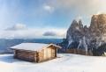 Un conte de fée raconté en 110 photos de paysage enneigé