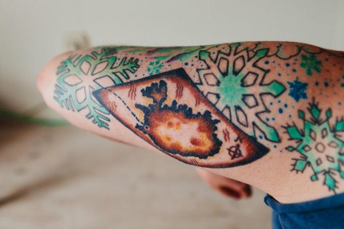 Tatouage jambe femme, miniature tatouage avant bras cool idées pour moi
