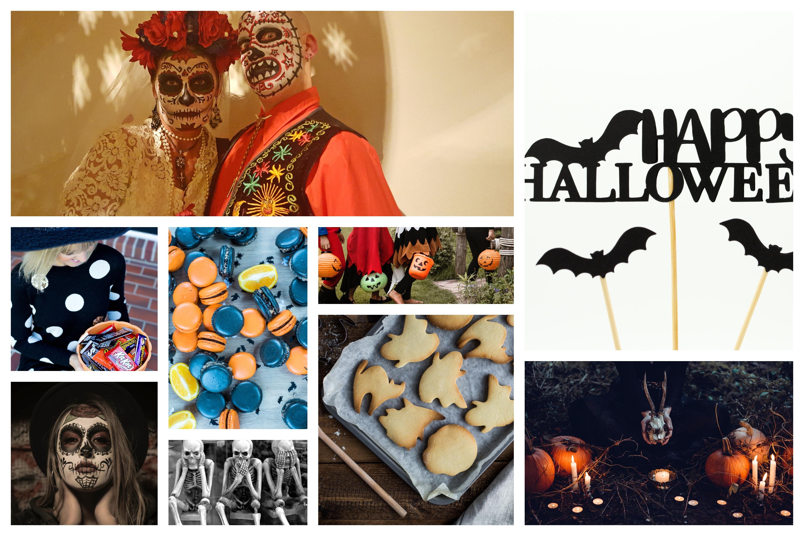 Halloween soiree a theme effrayante, idée pour le theme nouvel an, Halloween soirée avec des amis