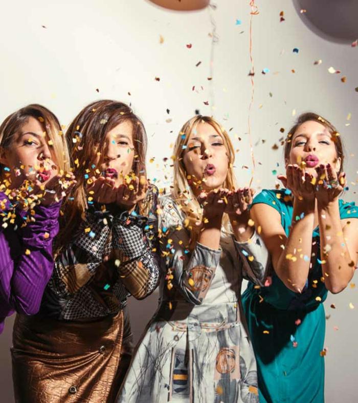Original theme de soiree insolite, soirée déguisée, theme de party soiree, celebrer son anniversaire avec ses meilleures amies